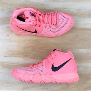 848820a3778209 Nike Shoes - Nike Kyrie 4 GS LT Atomic Pink Basketball Shoes